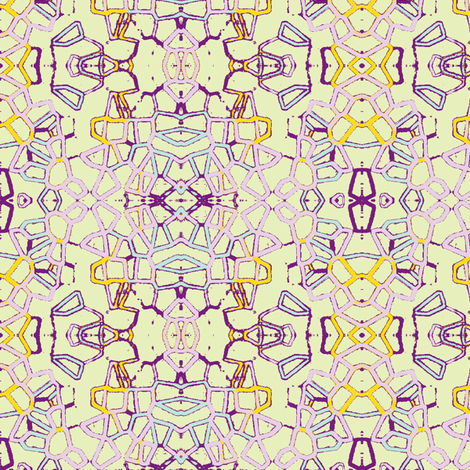 Crystal Haze fabric by marie_s on Spoonflower - custom fabric