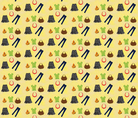 girl's clothing fabric by krs_expressions on Spoonflower - custom fabric