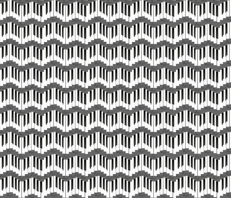keyboards fabric by krs_expressions on Spoonflower - custom fabric