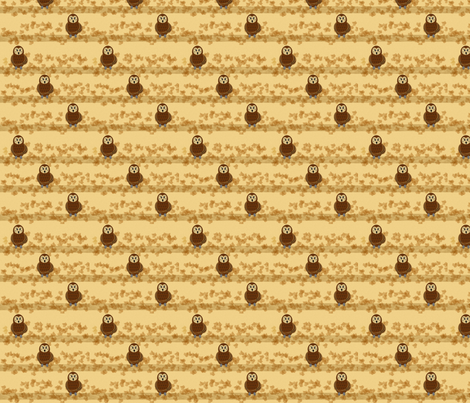 little owls fabric by krs_expressions on Spoonflower - custom fabric