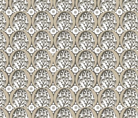 Deco dots / cement fabric by paragonstudios on Spoonflower - custom fabric