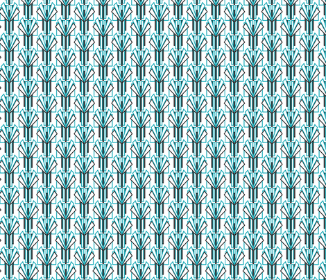 Deco pattern fabric by cjldesigns on Spoonflower - custom fabric
