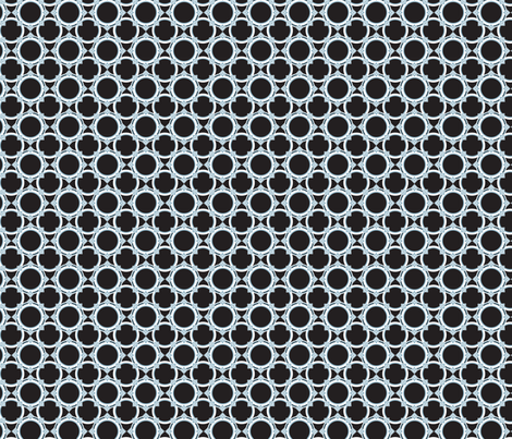 Deco circles fabric by cjldesigns on Spoonflower - custom fabric