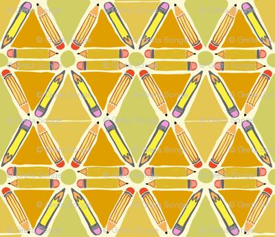 Pencil Geometric