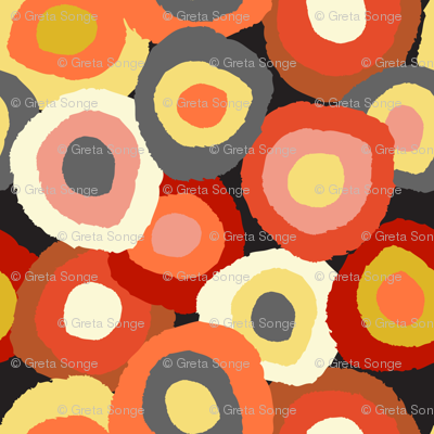 Target Dots- warm