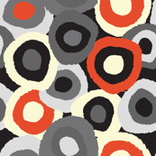 Target Dots Grey and Red