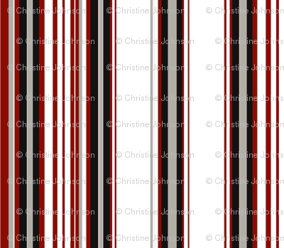 deco stripe / rouge