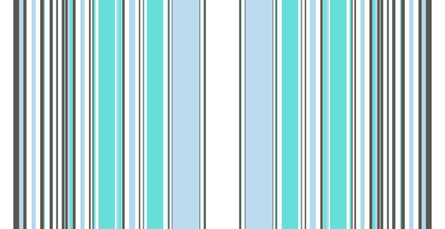 deco stripe / baby blue fabric by paragonstudios on Spoonflower - custom fabric