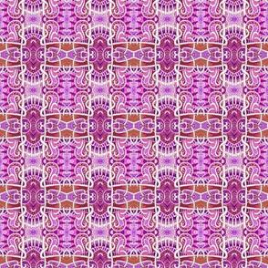 Mutant Pink Square Plaid