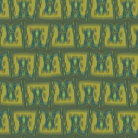 Jaipur (Green) fabric by david_kent_collections on Spoonflower - custom fabric