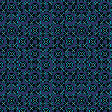 pretty dots 250 atlantis fabric by glimmericks on Spoonflower - custom fabric