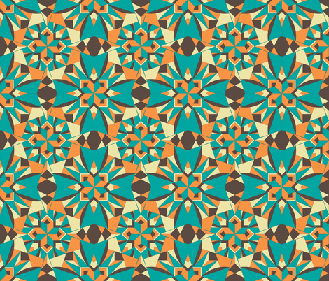 Grandma Lilly - Art Deco Recollections fabric by rhondadesigns on Spoonflower - custom fabric