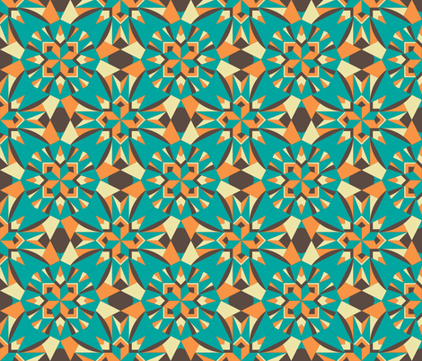 Aunty Bella fabric by rhondadesigns on Spoonflower - custom fabric