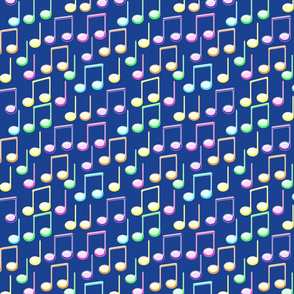 Colorful Musicnotes