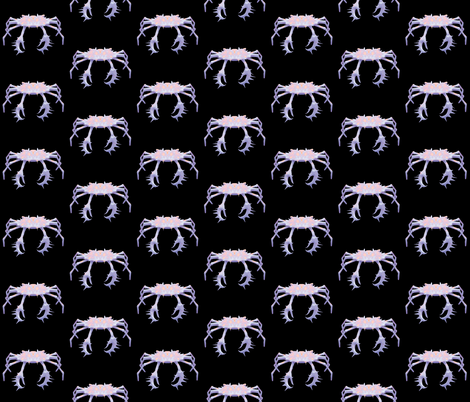 Crab 1, S fabric by animotaxis on Spoonflower - custom fabric