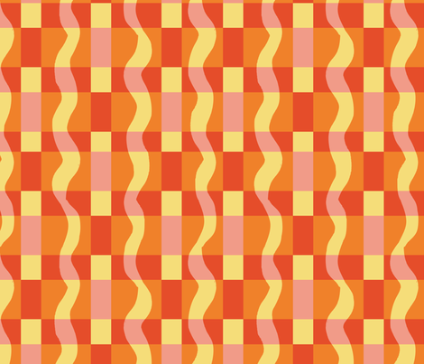 red_plaid_for_apples fabric by gsonge on Spoonflower - custom fabric