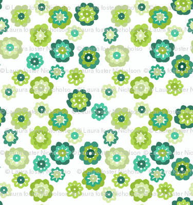 silly green flowers