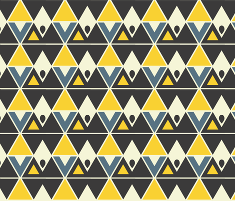 trideco fabric by mooberri on Spoonflower - custom fabric