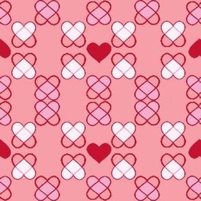 Argyle Hearts blush