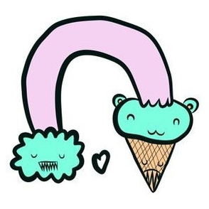 ice cream bear