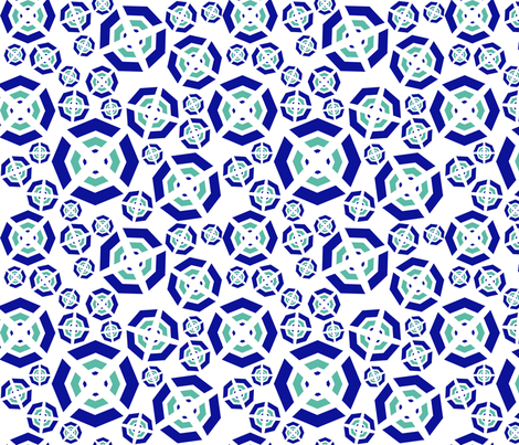 Cross my Dot fabric by demouse on Spoonflower - custom fabric