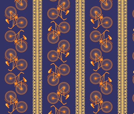 I want to ride my bicycle... fabric by glimmericks on Spoonflower - custom fabric