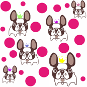 french bulldog cartoon world:)
