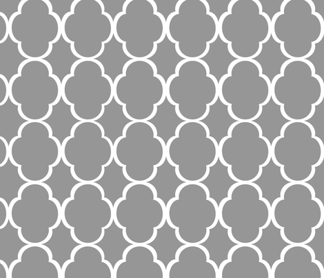 quatrefoil_grey fabric by dpack927 on Spoonflower - custom fabric