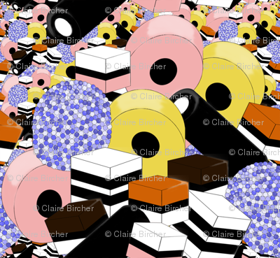 Licorice alsorts