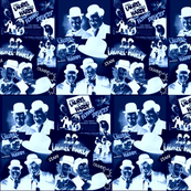 LAUREL & HARDY NEGATIVE COLLAGE