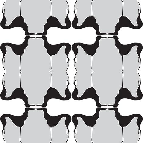 Art Deco Greyhound fabric by mag-o on Spoonflower - custom fabric