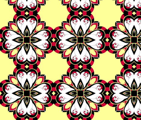 Art Deco-scope  fabric by beesocks on Spoonflower - custom fabric