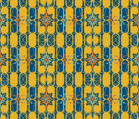 because of matthias fabric by annosch on Spoonflower - custom fabric