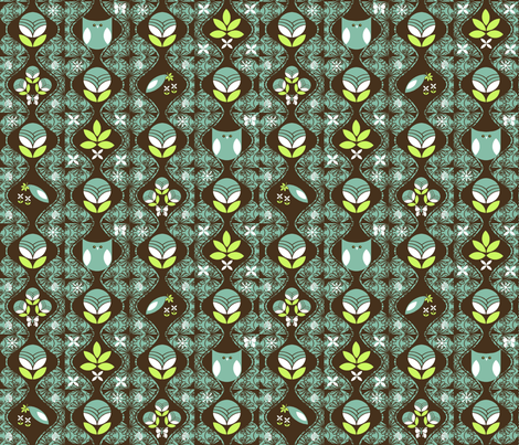 Deco Garden fabric by kdl on Spoonflower - custom fabric