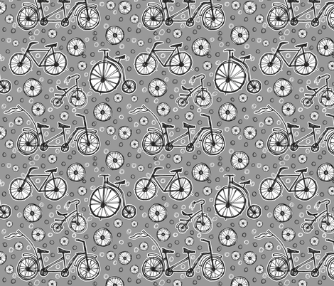 Pedal-Driven Play fabric by dianef on Spoonflower - custom fabric