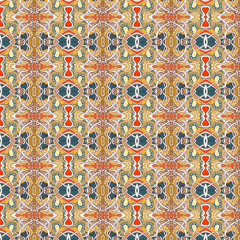 The Warmth of Mama's Cooking fabric by edsel2084 on Spoonflower - custom fabric
