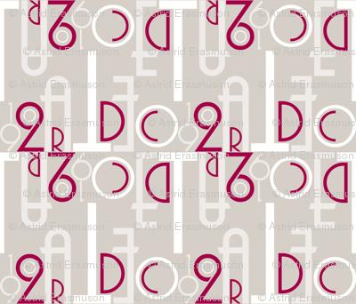Art Deco Font-ilicious (colour)