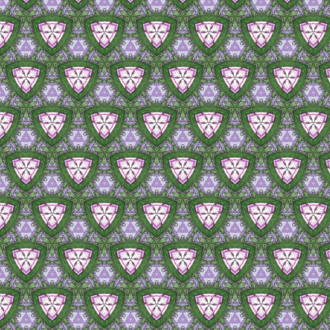 Gloria's Shields fabric by siya on Spoonflower - custom fabric