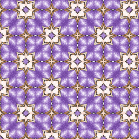 Hinako's Star Grid fabric by siya on Spoonflower - custom fabric