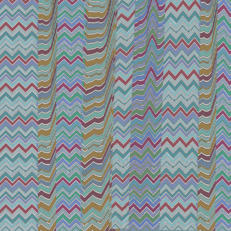 Petris Zag (Cool) fabric by david_kent_collections on Spoonflower - custom fabric