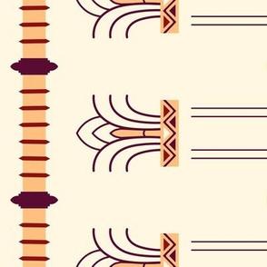 Napier Columns Border Print