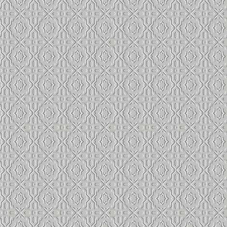 Pressed Platinum Fancy fabric by inscribed_here on Spoonflower - custom fabric