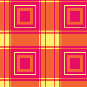 geometric plaid with squares-tropical