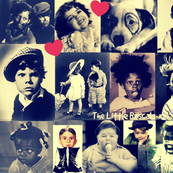 Little Darlings Retro Collage
