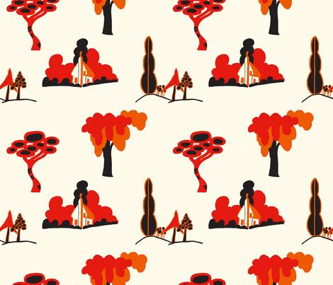 Clarice Cliff fabric by jojomodjo on Spoonflower - custom fabric
