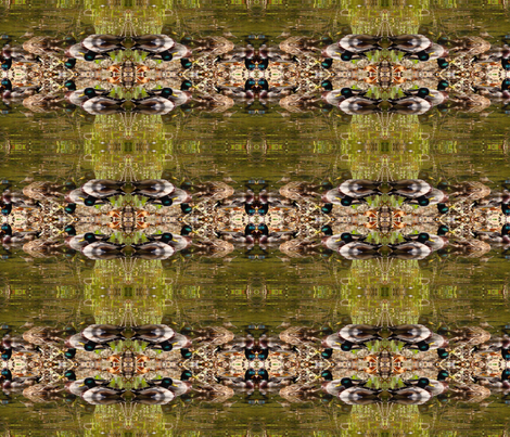 ducks in water fabric by krs_expressions on Spoonflower - custom fabric