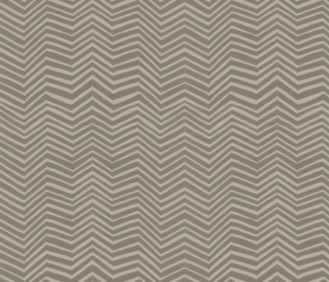 Zigzag in Safari fabric by forest&sea on Spoonflower - custom fabric
