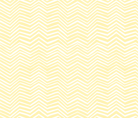 Zigzag in Gold fabric by forest&sea on Spoonflower - custom fabric