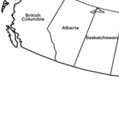 CANADA QUILTING MAP
