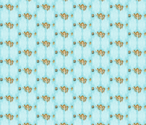 angel babies fabric by krs_expressions on Spoonflower - custom fabric